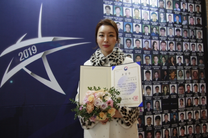 윌테크놀러지㈜ 이윤정 대표이사 중소벤처기업부장관 표창 수상