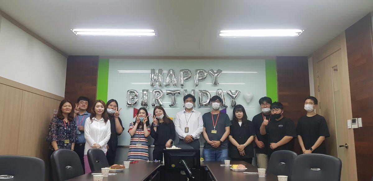 2020년 7월 생일파티
